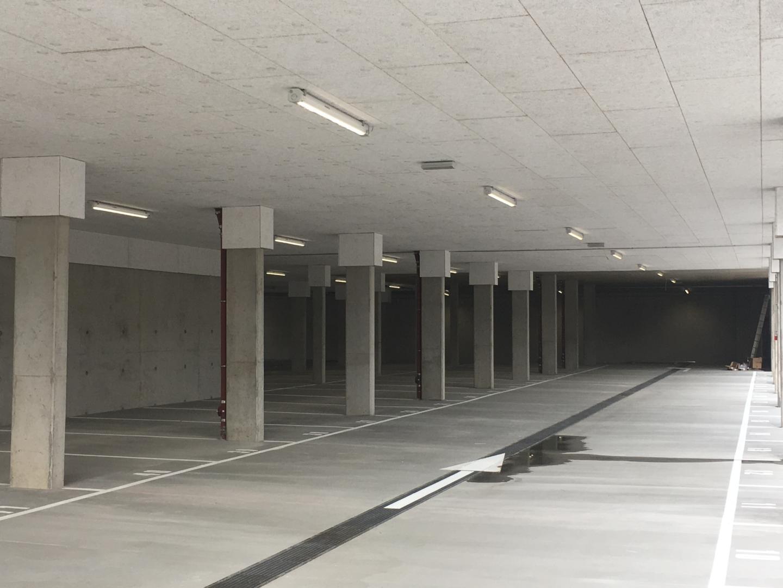 Dalle du parking souterrain